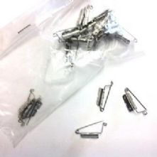 Pack of 20 Sew-on Stainless Steel Brooch Back Pins